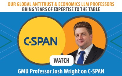 GMU Professor Josh Wright on C-SPAN
