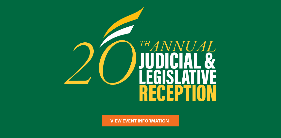 20th Annual Judicial and Legislative Reception
