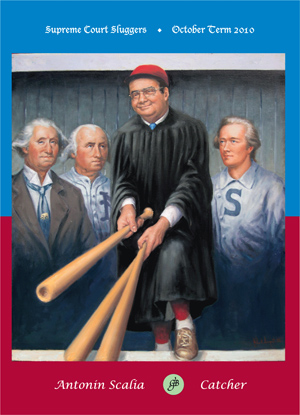 Scalia Baseball Card