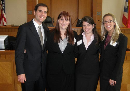 Trial Advocacy Team members