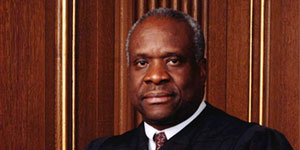 Justice Clarence Thomas Visits Mason Law Class