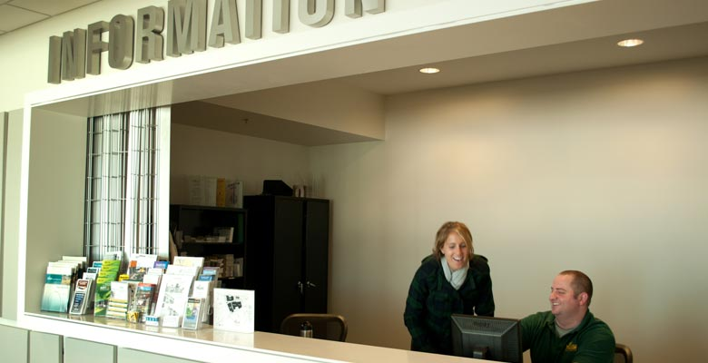 Arlington Campus Information Desk
