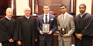 First-Year Students Compete in Moot Court Board Competition
