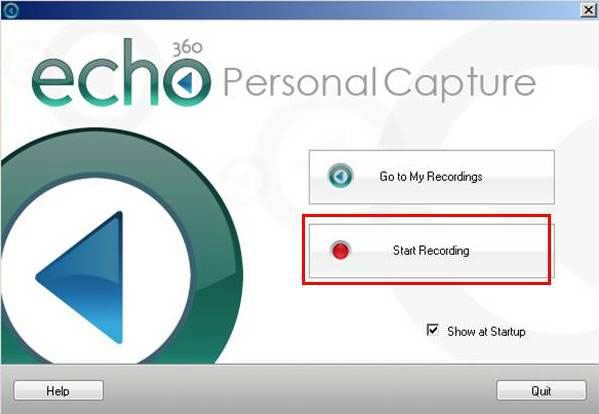 how to use echo360 on mac